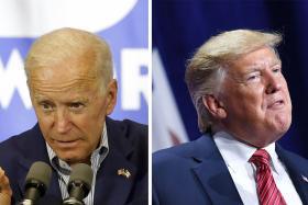 Trump, Biden face off in Iowa