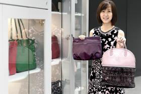 Handbag business provides people with muscular dystrophy a purpose