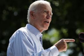 Biden, four others, ahead of Trump in 2020 polls