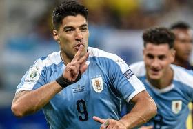Uruguay coach Oscar Tabarez hails team's dedication