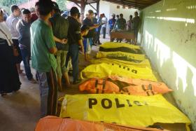 At least 15 killed after ferry sinks near Madura island