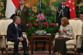 Singapore, Jordan ink more deals to strengthen ties