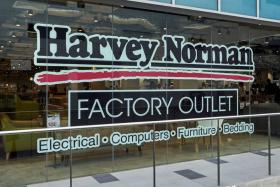 Harvey Norman's factory outlet at Viva Business Park, 750B Chai Chee Road.