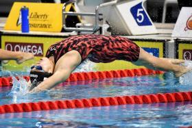 National swimmer Jamie Koo.