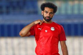 Forward Mohamed Salah looking to play his part for Egypt, after a stellar season with Liverpool.