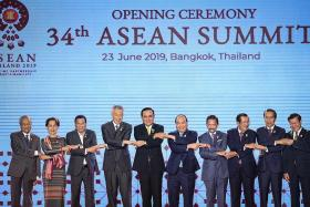 Asean unveils vision for Indo-Pacific