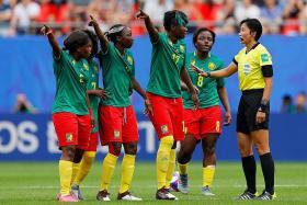 England manager Phil Neville 'ashamed' of Cameroon's behaviour