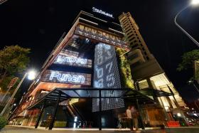 95 per cent of Funan's retail space filled