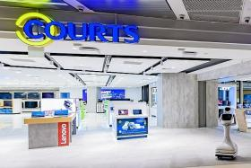 Design your smart home at Courts' new outlet in Funan