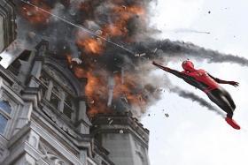 Spider-Man hits a home run