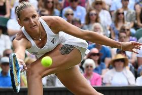 Karolina Pliskova shows her title credentials