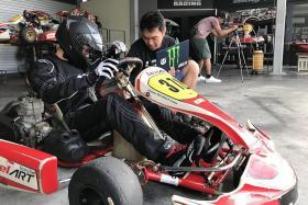 Go-karting to be part of Singapore Grand Prix festivities