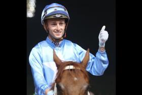 Perth jockey Joseph Azzopardi rode Silent Force to a win two starts back.