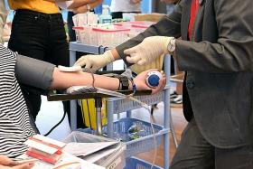 Singapore Red Cross concerned over lack of young blood donors