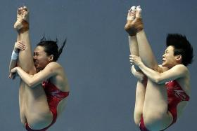 China sweep seven gold medals in diving