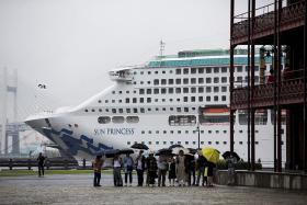 File photo of The Sun Princess