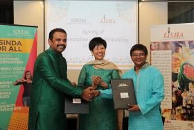 Sinda, Little India group to work together on community programmes