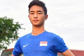 Xavier Wong, who plays for the Under-15 team of top-tier Finnish club Inter Turku, can be deployed as a centre-back, fullback or defensive midfielder.