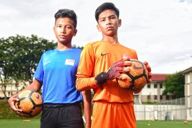 Yazid Yasin's penalty-saving heroics spark sons' footballing dreams