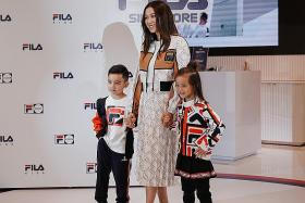 Linda Chung: 'There's no need to hide my kids from the spotlight'