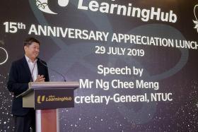 NTUC LearningHub starter kit will help train 'Worker 4.0'