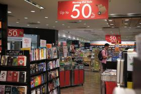 Times Centrepoint fifth bookstore to close since April