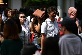 Expect more warm, dry weather and perhaps haze