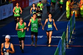 This year's Standard Chartered Marathon Singapore will start in the evening for the first time.