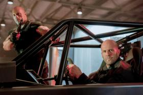 Dwayne Johnson and Jason Statham in Fast & Furious: Hobbs & Shaw