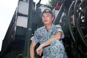 Second Warrant Officer Eu Wei Lek (above) says its debut shows the Republic of Singapore Air Force's readiness to defend the nation.