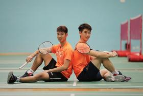 Badminton duo overcome injuries to make history for Singapore