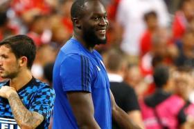 Romelu Lukaku did not take part in any pre-season match for Manchester United, including their International Champions Cup clash against Inter Milan in Singapore.