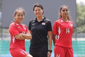 More aggression needed in local women's game: Singapore's Chris Yip-Au