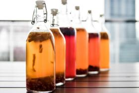 Kombucha is made by fermenting tea and sugar with the kombucha culture, known as a scoby (short for symbiotic colony of bacteria and yeast).