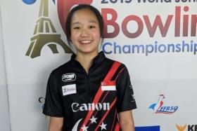 Arianne Tay, 15, has won her first international title.