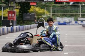 Sacrifices paying off for Singapore's 12-year-old racer Christian Ho