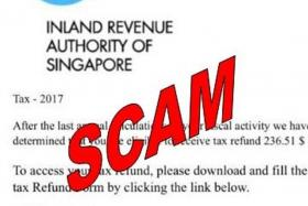 Iras warns public about e-mail and WhatsApp scam