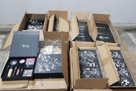 Two women arrested for importing $800,000 worth of fake cosmetics