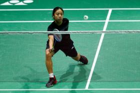 Singapore's world No. 32 Yeo Jia Min defeated world No. 1 Akane Yamaguchi in 39 minutes.