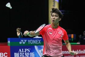 Loh Kean Yew credits inspirational teammate Yeo Jia Min for his win
