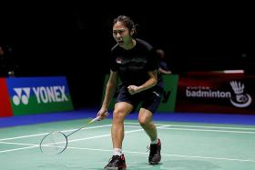 Singapore shuttler Yeo Jia Min: Forget about win, focus on next match