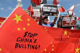 South China Sea: White House accuses China of 'bullying'