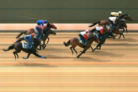 TRIAL 3: Mister Dynamo ticked all the boxes when finishing third behind Augustano and Imperium over the 1,000m trip.