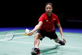 Yeo Jia Min created history by becoming the first Singaporean woman to reach the singles' quarter-finals of the BWF World Championships.