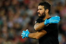 In Alisson's absence, Liverpool have not kept a clean sheet.