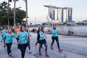 Take a long walk to raise money for charity