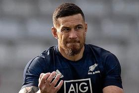 Sonny Bill Williams in line for a third straight Rugby World Cup title