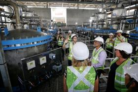 Upgraded water treatment plant helps Singapore tackle climate change