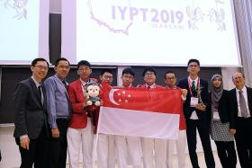 S'pore students bag seventh straight title in 'Physics World Cup'