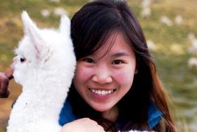 Ms Wei Tan had just completed her postgraduate studies in the University of California in Berkeley.
